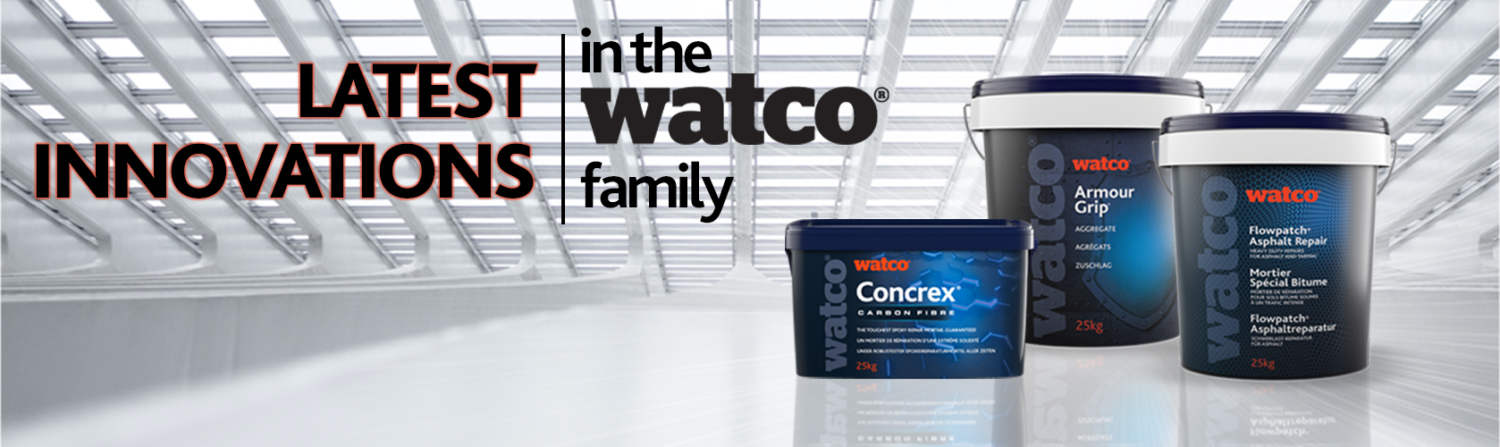 Latest innovations in the Watco family