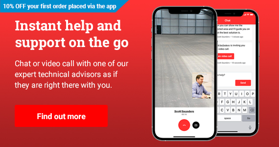 Instant help and support on the go - Chat or video call with one of our expert technical advisors as if they are right there with you.