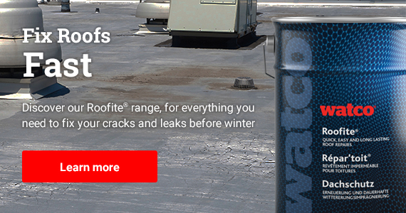 Discover our Roofite range, for everything you need to fix your cracks and leaks before winter