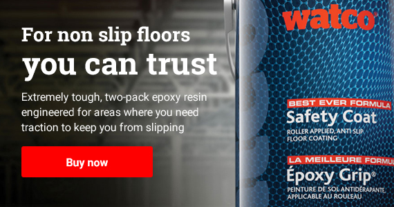 Safety Coat - For non slip floors you can trust