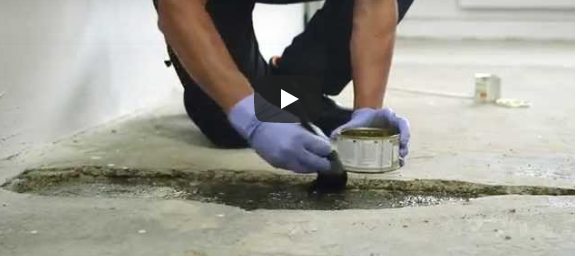 Concrex - How to Repair a Hole in a Concrete Floor