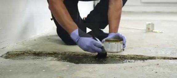 Concrex Carbon Fibre- How to Repair a Hole in a Concrete Floor