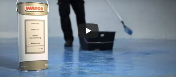 Fastcoat – How to Paint a Floor With a Rapid Curing Coating