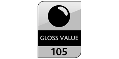Gloss Value 105