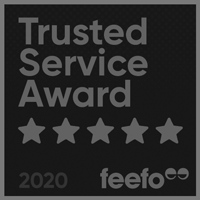 Feefo Trusted Service Award 2020