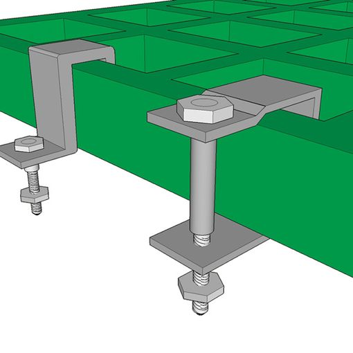 Watco Firm-Step Grating Fixing