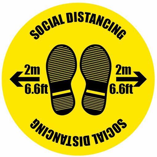 Watco Social Distancing Floor Marker Social Distance 2m