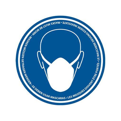 Watco Wear Masks Floor Marker