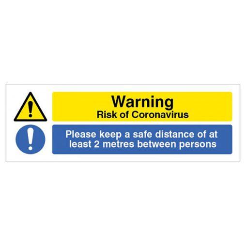 Watco Social Distancing Warning Floor Marker