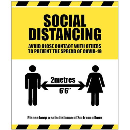 Watco Social Distancing Sign
