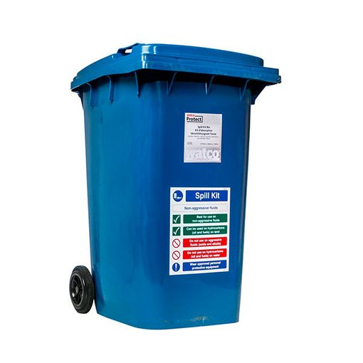 Watco Spill Kit Bin for Oil and General Spills